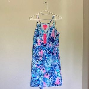 Lilly Pulitzer Dusk Strappy Silk Dress